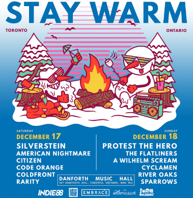 Hometown Toronto Show announced for Stay Warm Fest!