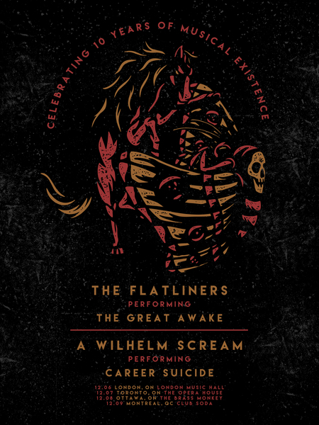10th Anniversary of THE GREAT AWAKE Tour with A Wilhelm Scream