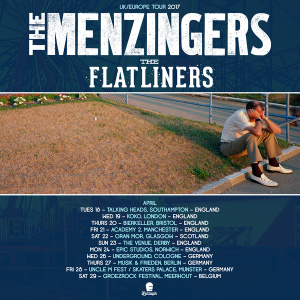 Spring 2017 European Tour with The Menzingers