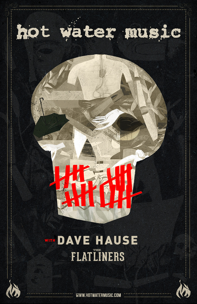 Hot Water Music / Dave Hause / The Flatliners tour