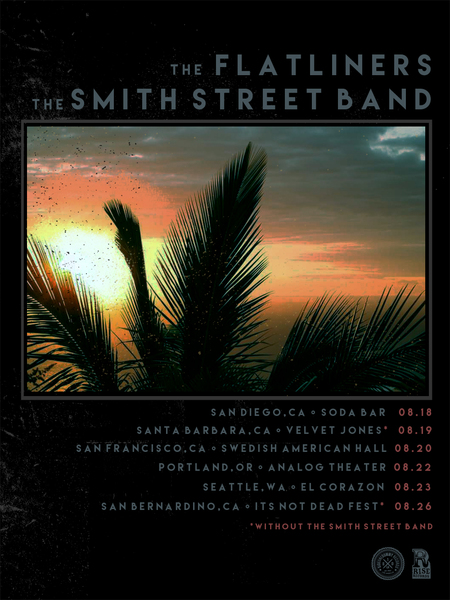 West Coast USA Tour with The Smith Street Band!